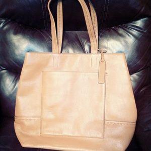 J Crew Tan Large Bag